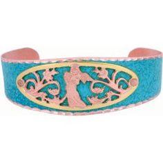 Angel Blue Patina Bracelet