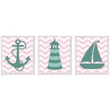 Image result for girl nautical beach nursery