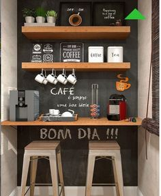 Awesome Home Coffee Stations Ideas Momooze - Looking for an Inspir . - Awesome Home Coffee Stations Ideas Momooze – Are you looking for inspiration to design your o - Coffee Bars In Kitchen, Coffee Bar Home, Home Coffee Stations, Coffe Bar, Office Coffee Station, Coffee Station Kitchen, Mini Cafeteria, Diy Kitchen, Kitchen Decor