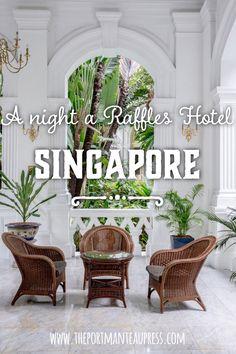 A review of Raffles Hotel Singapore.