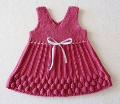Make Your Children Happy with Handmade Knitwear - Babykleidung Baby Outfits, Baby Girl Dresses, Knit Baby Sweaters, Knitted Baby Clothes, Knit Baby Dress, Baby Cardigan, Knitting For Kids, Hand Knitting, Sweater Knitting Patterns