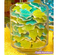 Gummy Turtles Candy: 5LB Bag