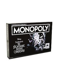 No bones about it - best game ever // The Nightmare Before Christmas Collectors Edition Monopoly Board Game