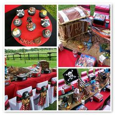 pirate party- a little mature for my kids but some really cute ideas!!