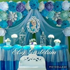 Trendy ideas for birthday themes decoration frozen party
