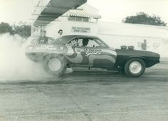 PartingOut Founder in 1982 testing out the Cuda, then a paint job, and finally off to the races