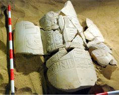 Egypt's antiquities ministry on Thursday revealed what it called conclusive evidence that revolutionary pharaoh Akhenaten shared power with his father.   Set of cartouches recording the name and preanomen of Amenhotep IV. Tomb of Vizier Amenhotep-Huy in Asasif, Egypt [Credit: MSA] Scholars had long debated whether Akhenaten, who tried to revolutionise ancient Egyptian religion, had shared power with his ailing father Amenhotep III.