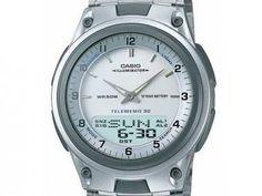 Relógio Masculino Casio Mundial AW-80D-7AVDF - Analógico e Digital Resistente á Água com as melhores condições você encontra no Magazine Eraldoivanaskasj. Confira!