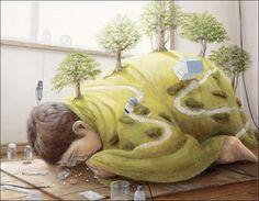 Surreal Art By Tetsuya Ishida