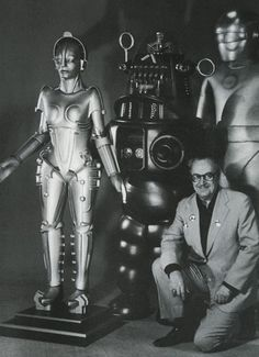 Uncle Forrie and his robots.