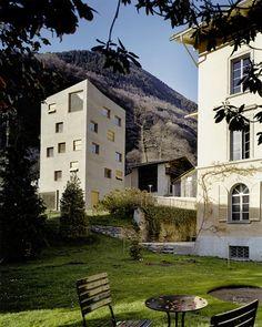 Miller Maranta - Villa Garbald, Castasegna 2004. A favorite; the...
