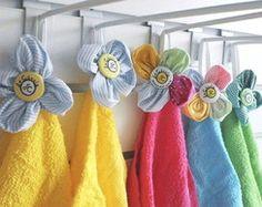 Toalha Escolar com Flor