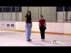 Ice Hockey - Skate Forward and Backward Cuts Around the Cones - YouTube