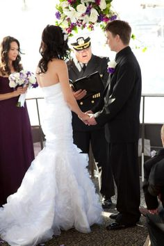 Newport Beach Yacht Wedding Loving The Captain S Hat