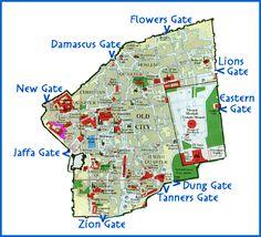 Jerusalem-Walking Wall/Gates