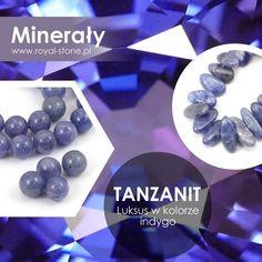 Tanzanit należy do grupy krzemianów (to krzemian wapnia i glinu, zawierający w swoim składzie także wanad oraz chrom i stront). Jest odmianą zoizytu – odmianą wyjątkową, bo przezroczystą, wyróżniającą się barwą o różnych odcieniach niebieskiego i fioletu: ciemnoniebieską, niebieskopurpurową, ametystową, fioletowoniebieską, indygo lub szafirową; czasami przybiera także odcienie żółci, brązu czy beżu, choć takie zabarwienie tanzanitu jest dużo mniej cenione. By uatrakcyjnić kolor tanzanitu… Kate Winslet, Crystals, Stone, Frame, Blog, Magick, Picture Frame, Rock, Crystal