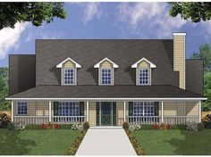 Eplans+Country+House+Plan+-+Four+Bedroom+Country+-+2143+Square+Feet+and+4+Bedrooms+from+Eplans+-+House+Plan+Code+HWEPL67733