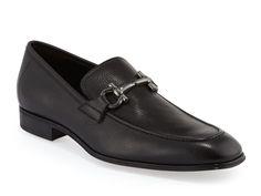 Ferragamo gancio bit loafers in black Calf leather - Italian Boutique €315