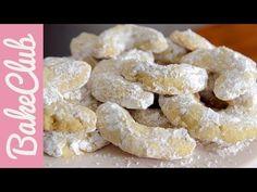 Vanillekipferl | BakeClub - YouTube Krispie Treats, Rice Krispies, Nom Nom, Biscuits, Xmas, Cookies, Cereal, Breakfast, Desserts