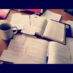 College Life  •  Study-Time  •