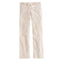 Dreamy cotton pant in stripe $49.50