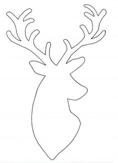 Image result for reindeer head template | Christmas | Pinterest ...