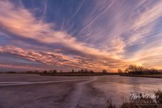 A beautiful sunrise on a cold, winter's morning in Colorado. (© Tony's Takes)