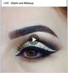 Beautiful eye tutorial   https://www.facebook.com/Vlechten.met.Daan/videos/1635080303396354/