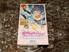 The Blinkins: The Bear & the Blizzard (VHS, 1987) Rare OOP HTF MCA! *NOT ON DVD*