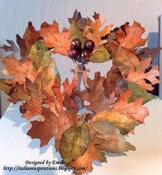 tattered leaves - Tim Holtz