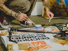 Ink&Ride 2014 - Tattoos, Bikes und Streetart im Museum für Arbeit