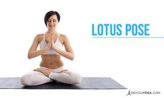 Lotus pose represents the flower and symbolises perseverance and fearlessness. Here are some tips on getting into the pose safely :)