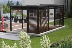 The pergola kits are the easiest and quickest way to build a garden pergola. There are lots of do it yourself pergola kits available to you so that anyone could easily put them together to construct a new structure at their backyard. Pergola Decorations, Modern Pergola, Pergola Canopy, Pergola Swing, Deck With Pergola, Outdoor Pergola, Covered Pergola, Backyard Pergola, Backyard Landscaping