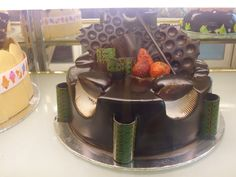 "Birthday Cake ""Chocolate Ganache"" - Made By: Strawberry Delight"