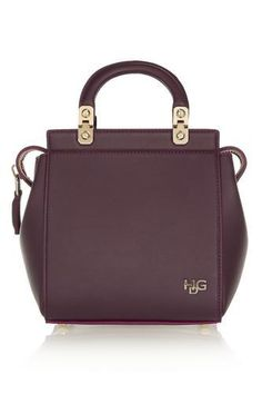 Mini House de Givenchy bag in oxblood leather #accessories #givenchy #designer #covetme
