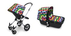 Limited Edition Fabric Set by Missoni for Bugaboo Strollers - my baby loves to gaze at the pattern!