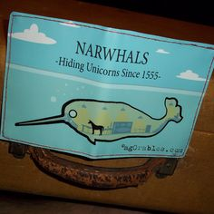 Narwhals, hiding unicorns since 1555.