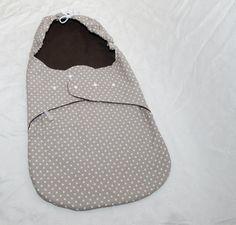 """Babyschalenbezüge - Einschlagdecke """"Natur"""" für Babyschale - ein Designerstück von LuanaLuna bei DaWanda"""