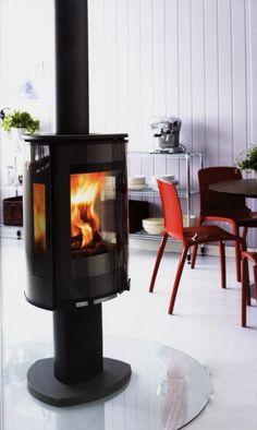 Jotul - F370 wood burning stove. Pretty awesome.
