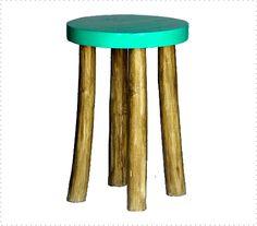Taburete Slogo Color Verde Agua, súper chulo!!!