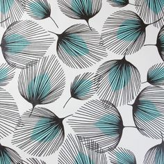 PVC Vinyl Tablecloth Duck Egg Feathers from Jolee Tablecloths Illustration Botanique, Illustration Art, Illustrations, Doodle Patterns, Zentangle Patterns, Print Patterns, Pattern Drawing, Pattern Art, Textile Pattern Design