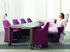 Lirio dining chairs, designed by Frans Schrofer, Leolux.