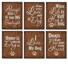 Super Cute for your Dog Room $20.00, via Etsy.
