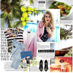 884. Model Style: Cara Delevingne (Reserved Spring Summer 2013)