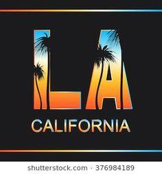 Typography for t-shirt print , vector illustration Venice Beach, California Logo, Palm Tree Drawing, Vaporwave Wallpaper, Krishna Painting, Tee Shirt Designs, Aesthetic Movies, Vintage Designs, Illustration