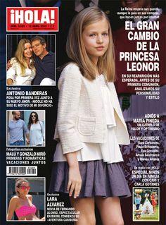 En ¡HOLA!, el gran cambio de la princesa Leonor en su reaparición más esperada #portada