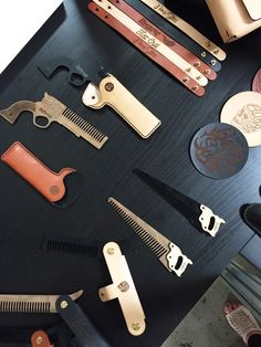 Men's grooming tools never looked so cool.  #mensgrooming #giftsfordad #bfgifts