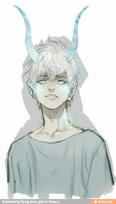 Jacks eyes were alight now his horns bright with power staring at elsa. Horor and happiness in her eyes as she moved closer towards him.