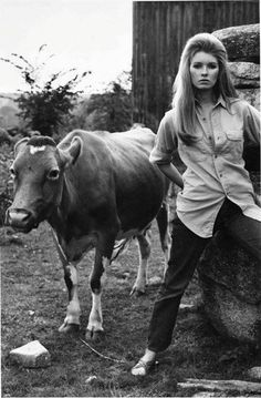 Young Martha Stewart in the 70's... you can't say she doesn't look like a badass