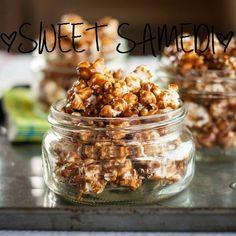 Sweet Samedi: Du pop-corn au caramel salé maison (aka ma version des Cracker Jack)   Bulles + Bottillons